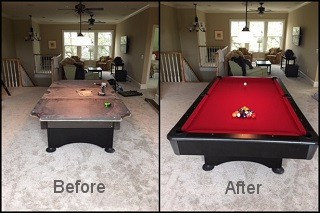 expert pool table repair in Waycross content img2