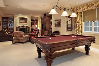 Pool table assembly with perfect leveling in Waycross content img3